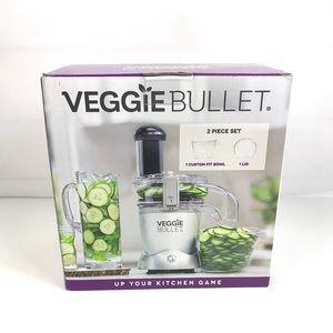 Veggie Bullet Blender Custom Fit Bowl 2pc Set